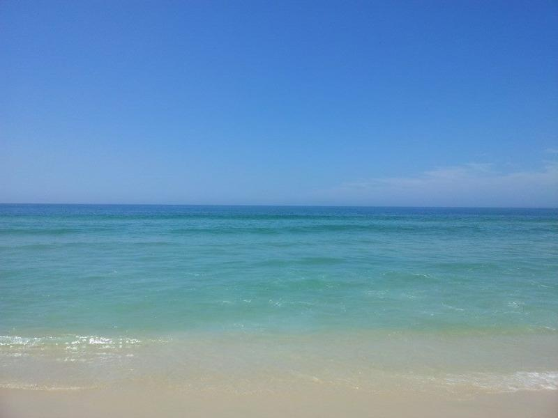 beach (Barra da Tijuca - condo front)