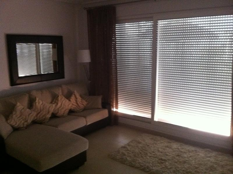 Electric Shutters to keep sun out (apartment is fully air conditioned also)