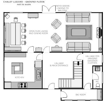 Lisiere ground floor plan