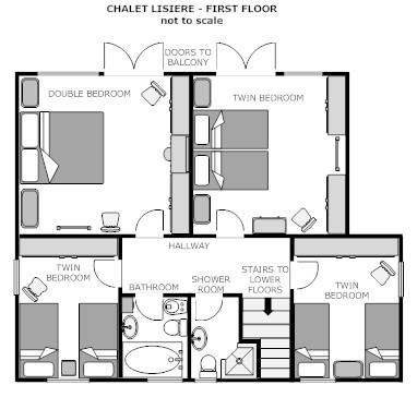 Lisiere first floor plan