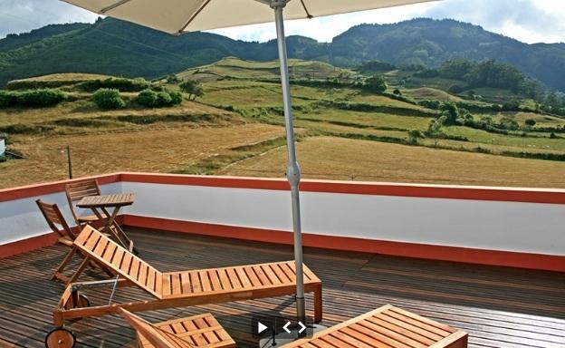 Chambre à coucher principale pont-terrasse