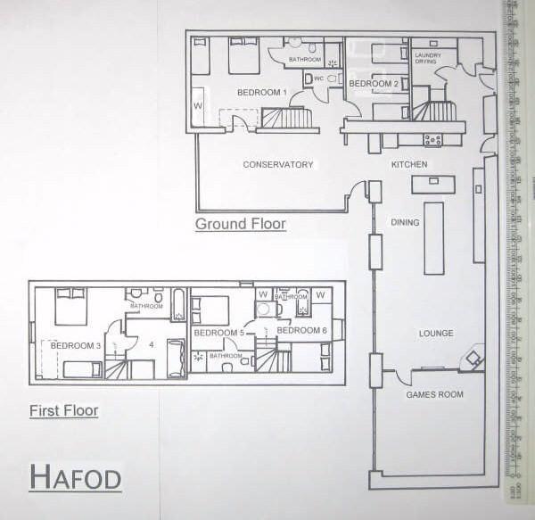 Hafod floorplan