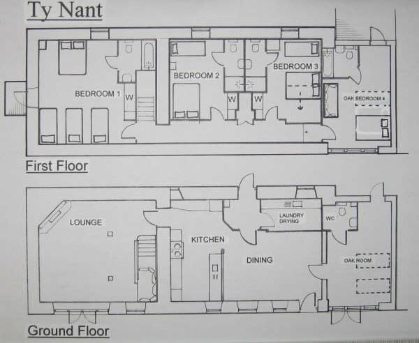 Ty Nant floorplan