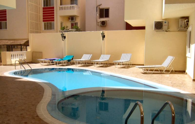 Oasis 5 pool area.