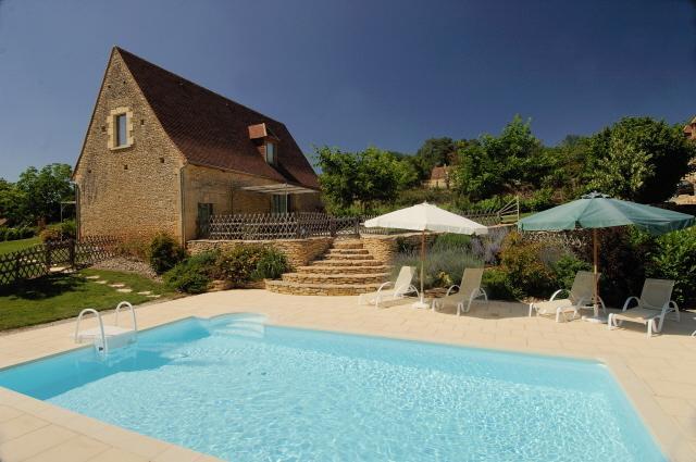 DIE GRANGETTE für 6 Personen mit privatem Schwimmbad und ZWISCHEN Lascaux Sarlat