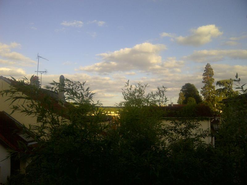 vue depuis chambre principale