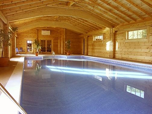Superb indoor heated swimming pool