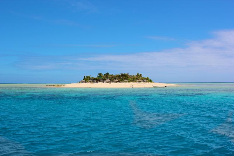 Stunning Tivua Island only 15 mins by boat from the dock a short stroll from the villa