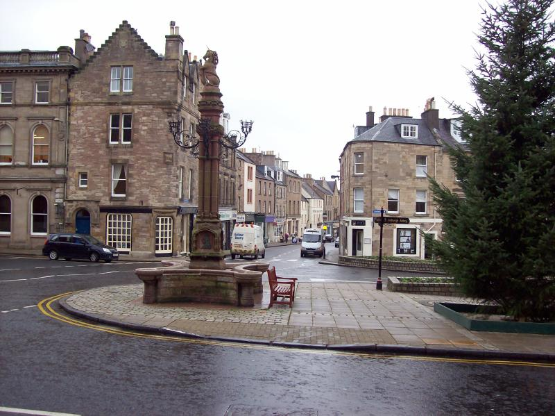 The market town of Jedburgh is situated on the main A68 in the south eastern corner of Scotland