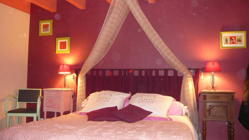 Les Chouettes Chambre Rose, holiday rental in Saint Jean de Liversay