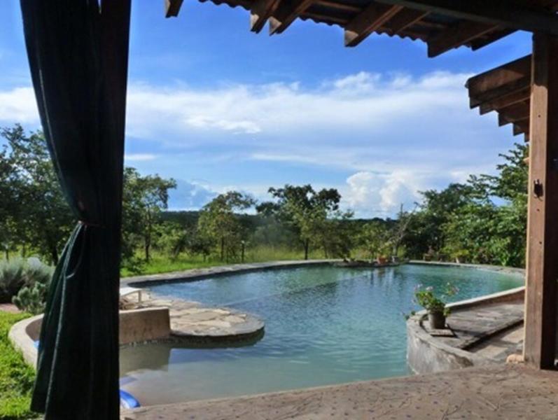 Swimming pool from the veranda ... just walk in !