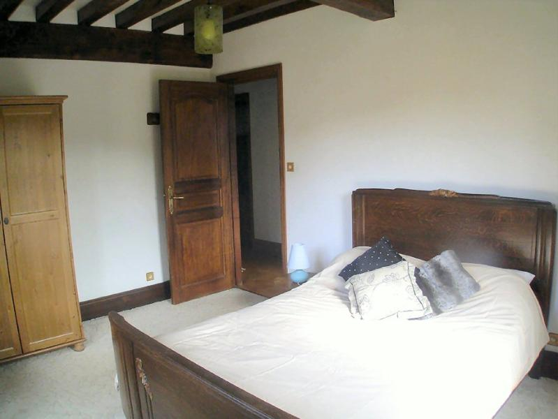 The downstairs double bedroom