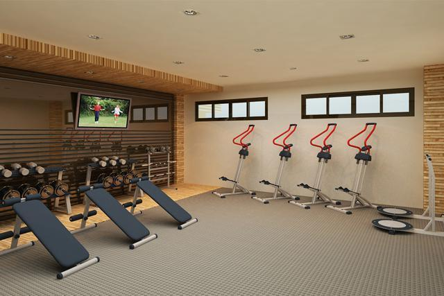 Indoor Gym (Clubhouse Basement)