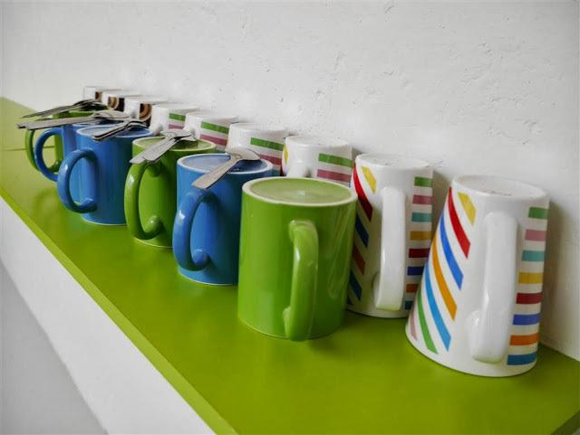 Colourful cups that colours your life~~~