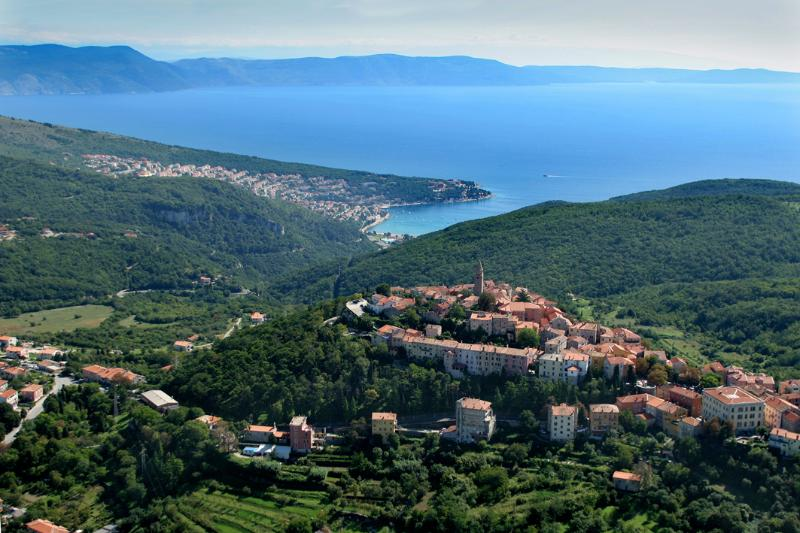 Panorama from Labin