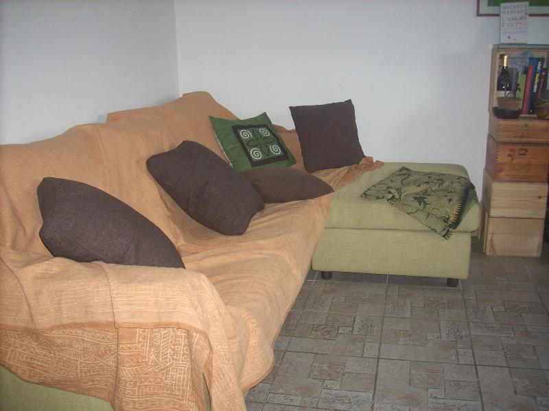 la sala dove leggere e riposarsi dopo le passeggiate in giro!
