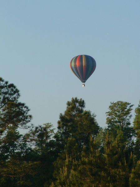 A Balloon drifting over the Preserve