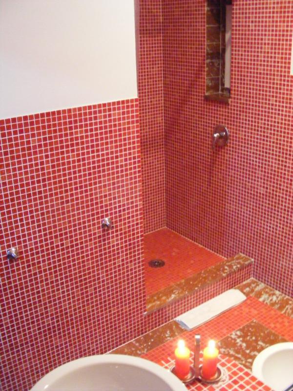 Mosaico di alta qualità, pavimento in marmo pregiato...