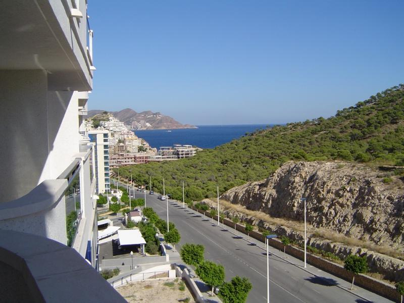 View of Benidorm from the Balcony