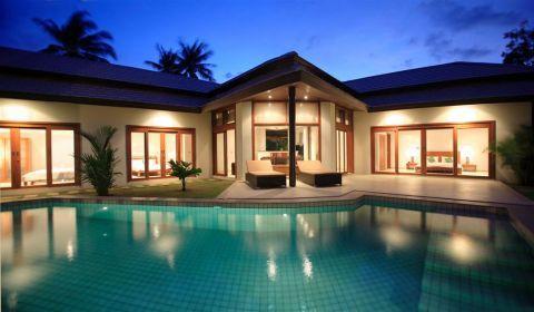 Villa per nacht