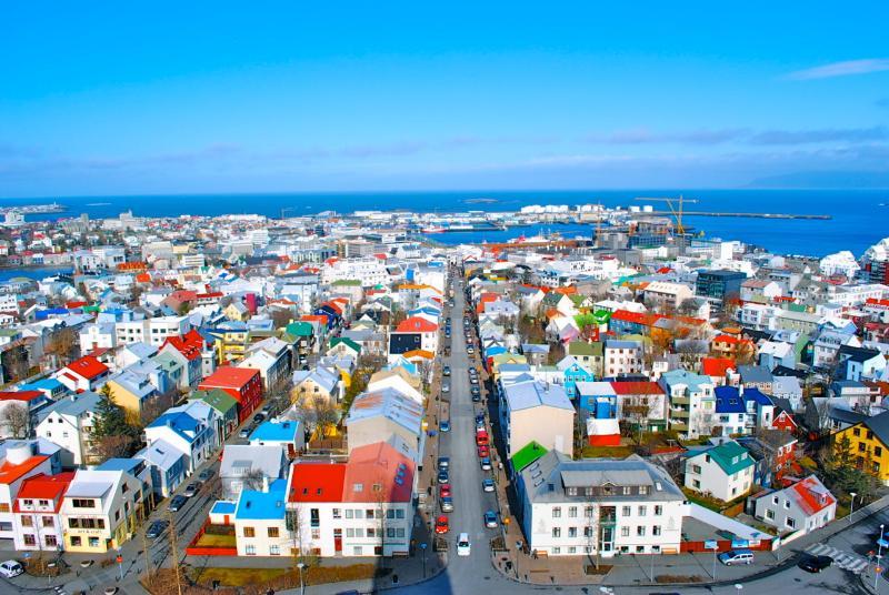 Centro de Reykjavik