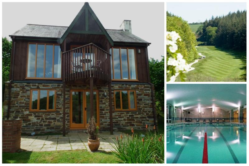 Fairways at Oakridge St Mellion free golf & pool, location de vacances à Saltash