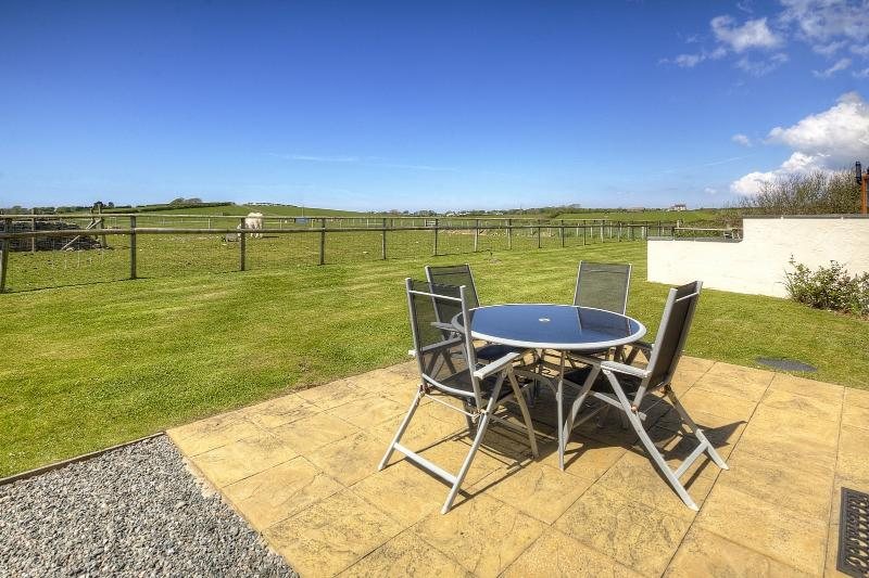 View from Patio of Carnedd Cottage at Cerrig y Barcud Holiday Cottages Anglesey