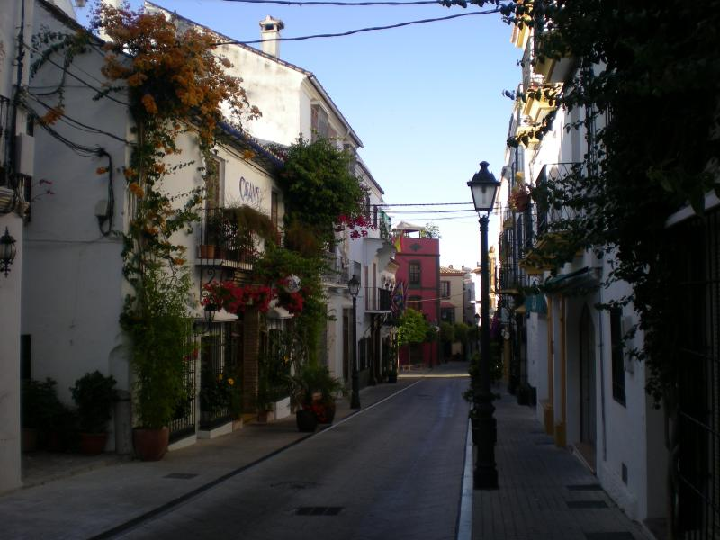 Calle Ancha - round the corner from the house