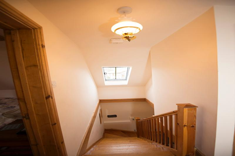 Stairwell viewed from 1st floor