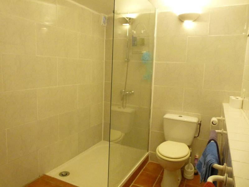 Newly fitted large walk in shower