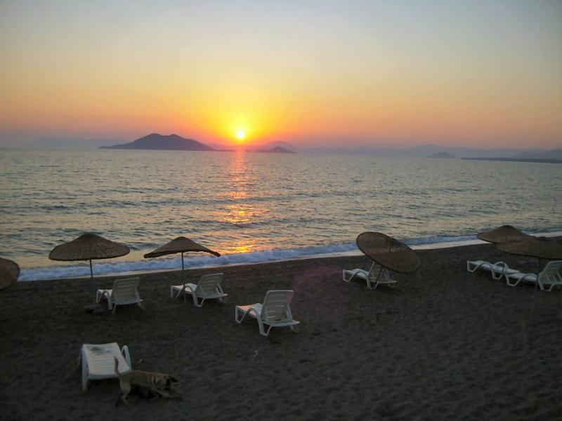 Sunset over Calis