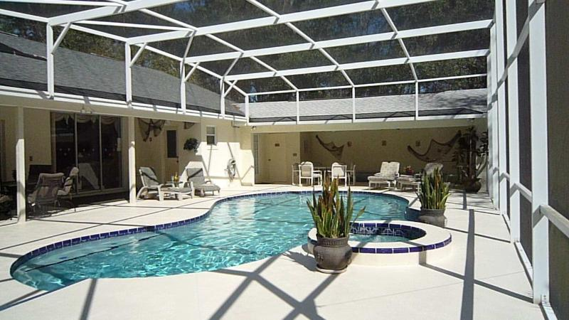 Private South/West Heated Pool, Two Lanai's, & BBQ