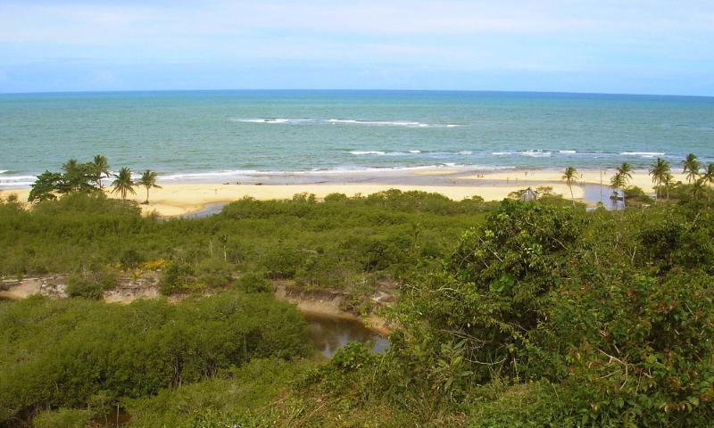 spiaggia Residence praia Taperapuan
