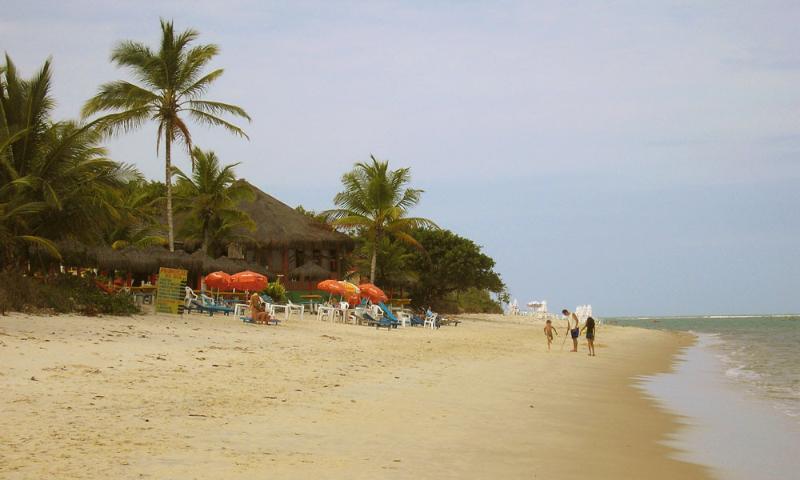 spiaggia di Taperapuan