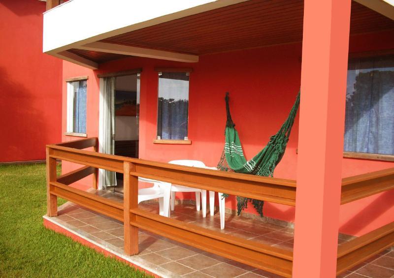 veranda con amaca