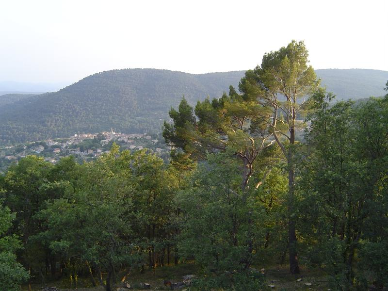 View from the house over Bargemon