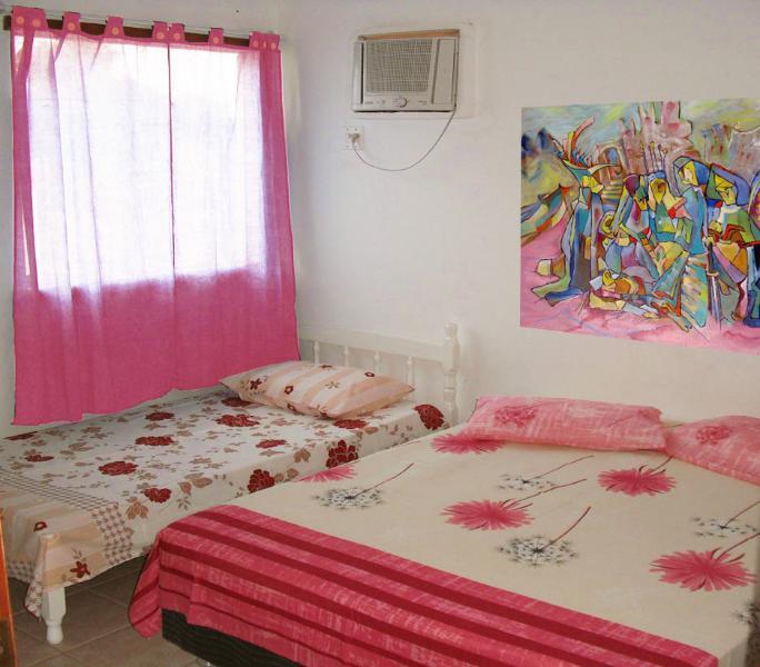 camera matrimoniale con terzo letto