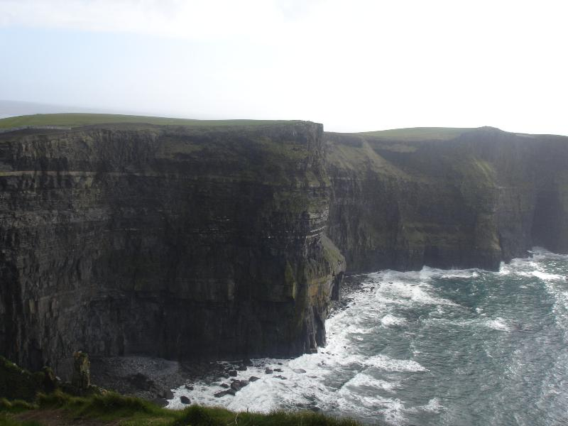 Cliffs of Moher - the route from Ballyvaughan is truly scenic where you can stop off for photos