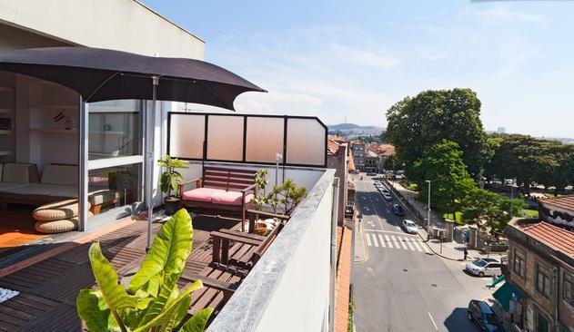 Terrace / Park view