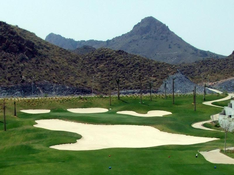 Aguilon golf club only 5 minutes drive (5 other courses within 30 minutes)