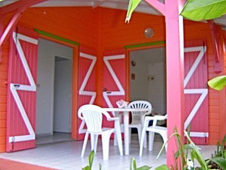 terraza independiente bungalow de ave del paraíso