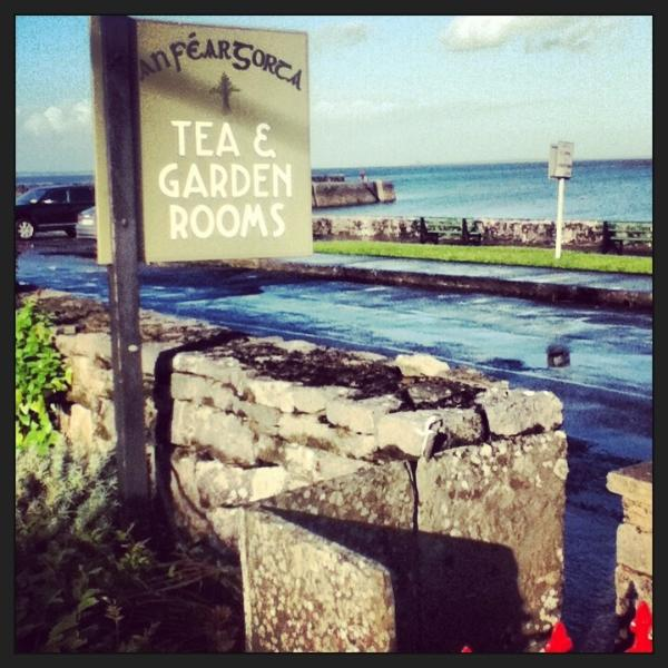 The tea rooms in Ballyvaughan village.