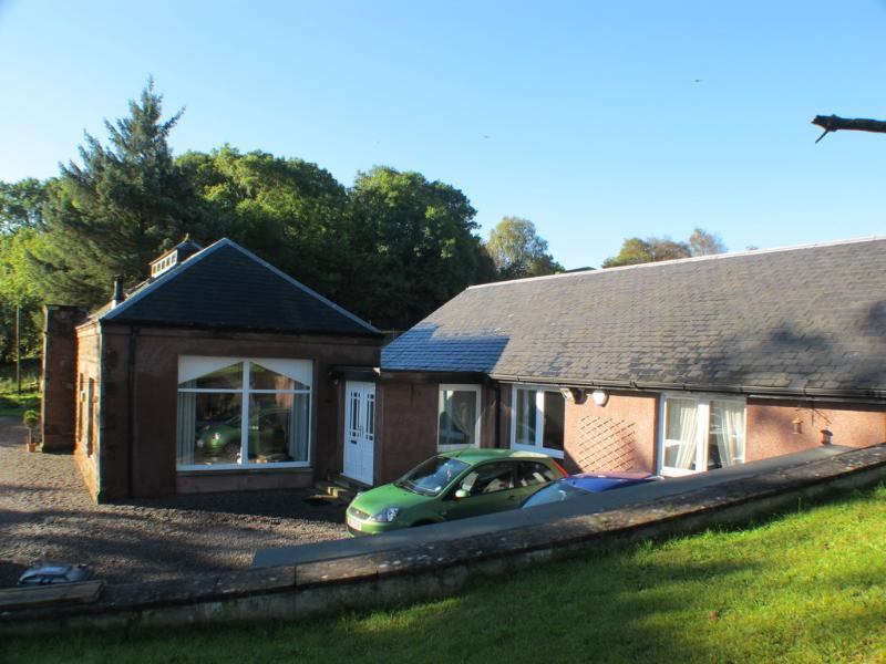 Self catering wing of Carman Hill House