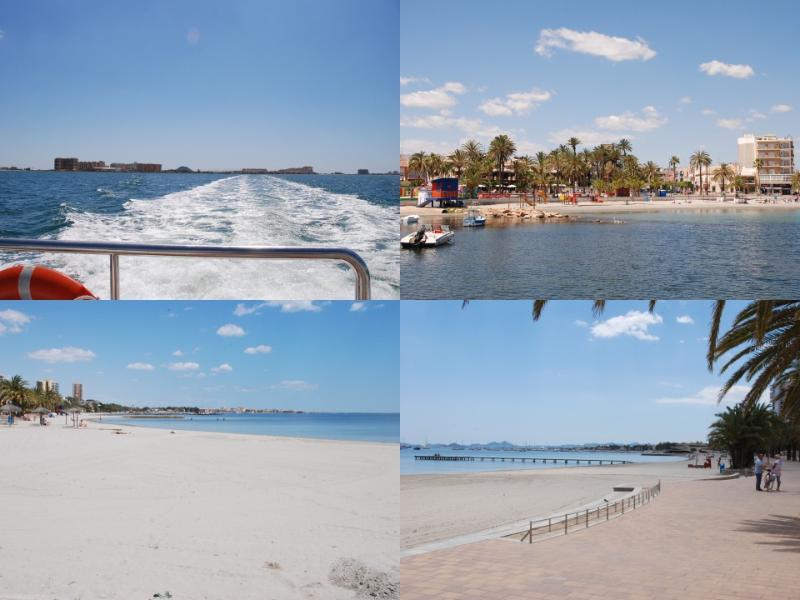 Santiago del Ribera, beaucoup de plaisir à wizz sur le Mar Menor sur le B & F ferry