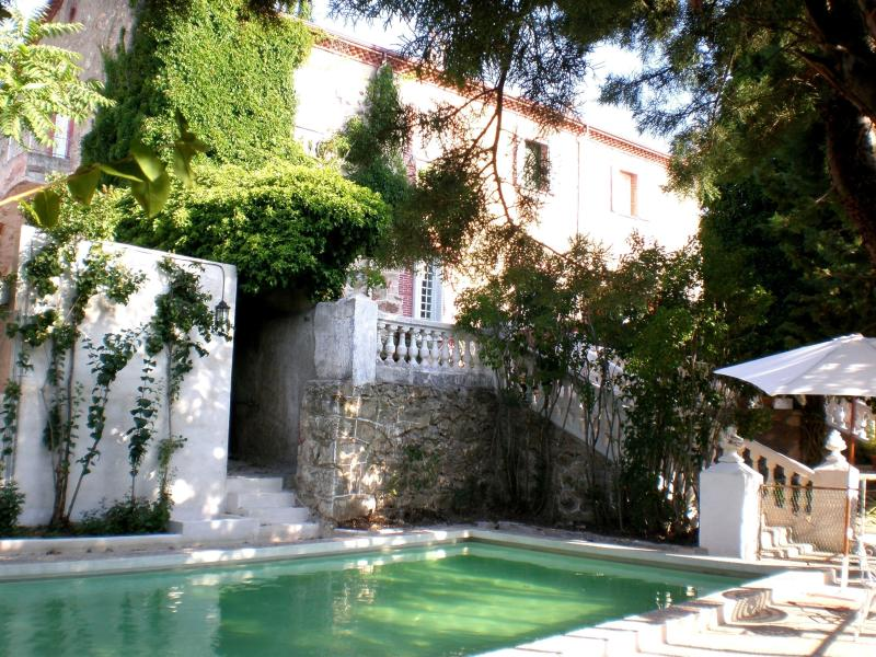 Villa Carmen - view from private pool