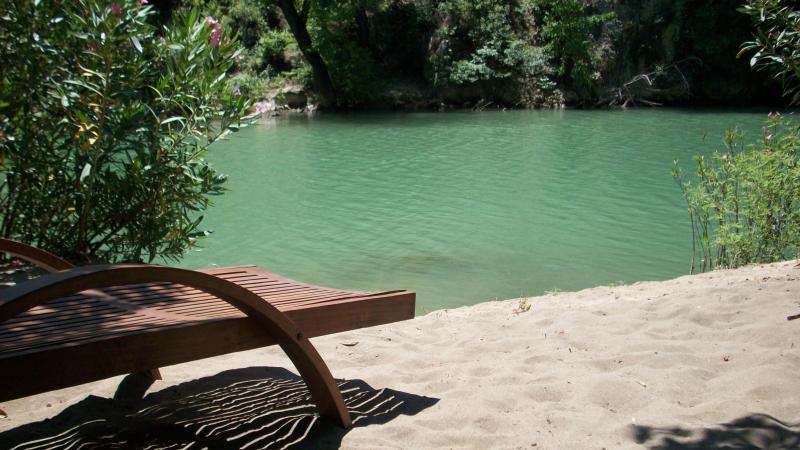 Relax beside Akkaya lake