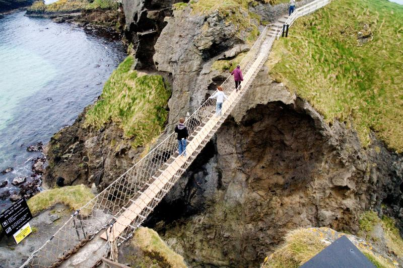 Carrick-a-rede rope bridge - 30 minutes drive along the stunning Antrim coastline