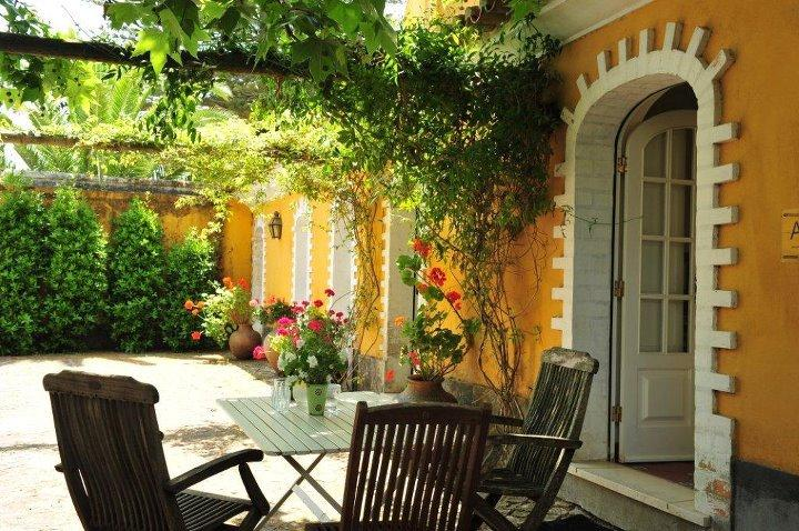 The Lemongarden House - the private terrace