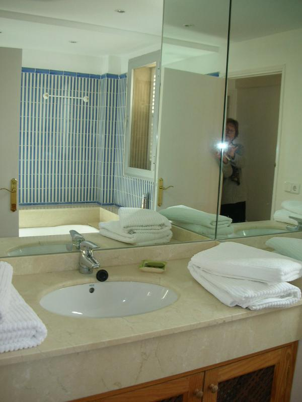 Luxury bathroom with Jacussi