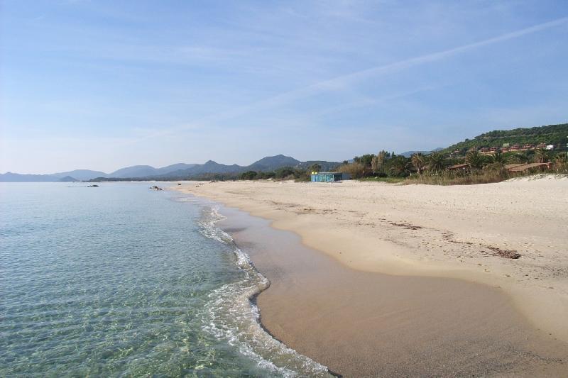 vista della spiaggia lunga circa 11 km